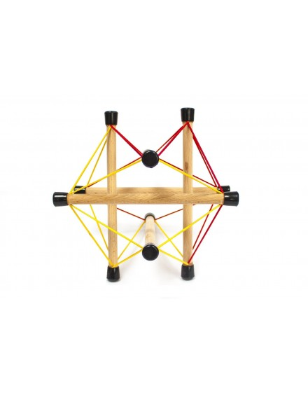 Symplex Lola. Estructura de Tensegridad.
