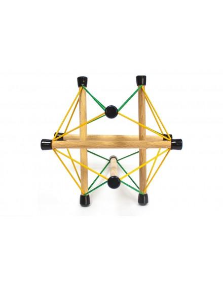 Symplex Adriana. Estructura de Tensegridad.